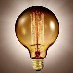 Ampoule à filament, look rétro XL - forme Sphère de la marque Luminea image 1 produit