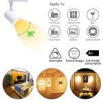 Ampoule GU10 LED 7WMR16 220V Dimmable Blanc chaud 2700K Azhien, 50W Ampoule Halogène équivalent, Nice Variation, Haute Luminosité, 560LM, 36 Deg, 50mm Diamètre, Eclairage Encastré, Intérieur,Spot, Lot de 6Unités de la marque Azhien image 4 produit