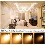Ampoule GU10 LED Couleur Changement 3W Dimmable LED Spot Bulb RVB + Blanc Chaud 2700K,12 Couleurs avec Télécommande, AC 85V - 265V, pour Applique, Rail Track, Plafonnier Encastré (4 ampoules + 4 télécommandes) de la marque HYDONG image 1 produit