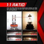 Ampoule H11 LED, 10000LM Phares pour Voiture et Moto, Ampoules Auto de Rechange pour Lampes Halogènes et Kit Xenon, 12V-24V, 6000K, 2 Ampoules de la marque koyoso image 4 produit