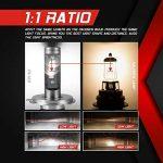 Ampoule H4 LED, 10000LM Phares pour Voiture et Moto, Ampoules Auto de Rechange pour Lampes Halogènes et Kit Xenon, 12V-24V, 6000K, 2 Ampoules de la marque koyoso image 4 produit