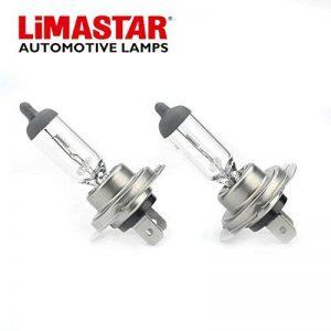 Ampoule H7 55W 12V Remplacement Standard des Ampoules de feux de croisement pour Voiture (2 pcs) de la marque Limastar image 0 produit
