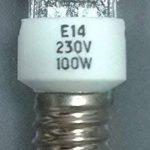 Ampoule halogène 100W E14tubulaire de la marque dura 230 image 2 produit