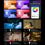 Ampoule Intelligente - Atuten Ampoule WiFi, 9W-E27 Ampoule Intelligente Bluetooth sans Fil, Lumières décoratives, Ajustement Parfait, Réglable, Multicolore, Dimmable, par Appareils iOS et Android, pas besoin de Hub (01-A60) de la marque Atuten image 2 produit