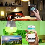 Ampoule Intelligente E27 WiFi Smart Lampe LED 7W Couleurs Ambiance Dimmable RGB Fonctionne Avec Amazon Echo Alexa Google Home Contrôle à Distance via APP Gratuit (IOS et Android) de la marque Nologie image 4 produit