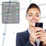 Ampoule Intelligente WiFi, Maxcio Ampoule Connectée Contrôle à Distance via APP Gratuit (IOS et Android), Minuterie et Couleur Dimmable, 9W-E14 Ampoule Alexa, pas besoin de Hub (2 Packs) de la marque Maxcio image 1 produit