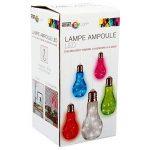 Ampoule lampe LED à poser ou à suspendre - Design - Coloris TRANSPARENT de la marque Atmosphera image 1 produit