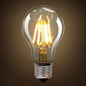 Ampoule LED 6W E27, Lot de 2, 6W Consommés Equivalence 60W, 2700K Blanc Chaud, 600 Lumens et Angle de Faisceau 360° par Aglaia de la marque Aglaia image 0 produit