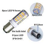 ampoule led baïonnette 12v TOP 3 image 1 produit