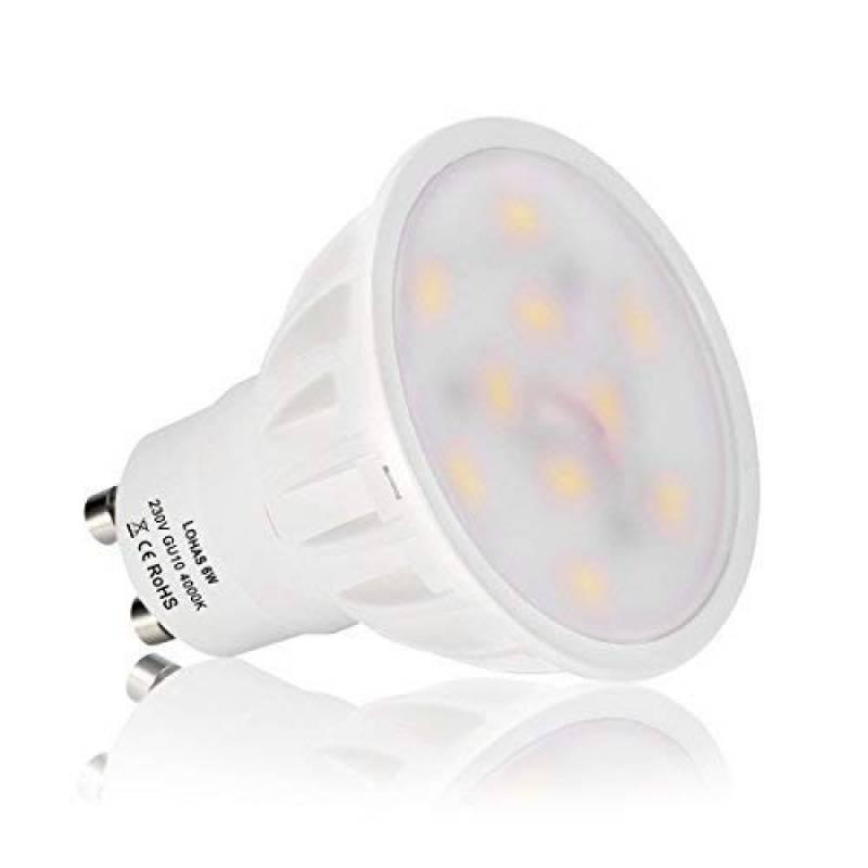 5000k Led 9w Naturel 230v Ampoule Gu10 Lumière Lampe Blanche Neutre sdtrChQ