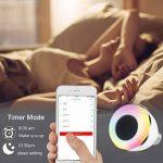Ampoule LED Bluetooth avec Enceinte Musique, Ampoule Couleur sans fil Smart, Intelligente RGBW LED E27 Doux Chaud Multicolore Enceinte Stéréo Bluetooth Télécommande par IOS, Android pour Maison de la marque KIPOOH image 1 produit