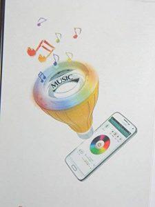 AMPOULE LED Bluetooth MUSICAL ET AMBIANCE à LED WIFI pour Smartphone/Tablette. SMART MUSIQUE LED de la marque USMART image 0 produit