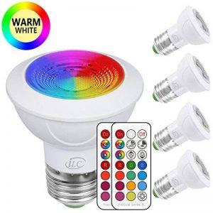 ampoule led change couleur avec télécommande TOP 3 image 0 produit