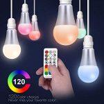 ampoule led change couleur avec télécommande TOP 4 image 2 produit