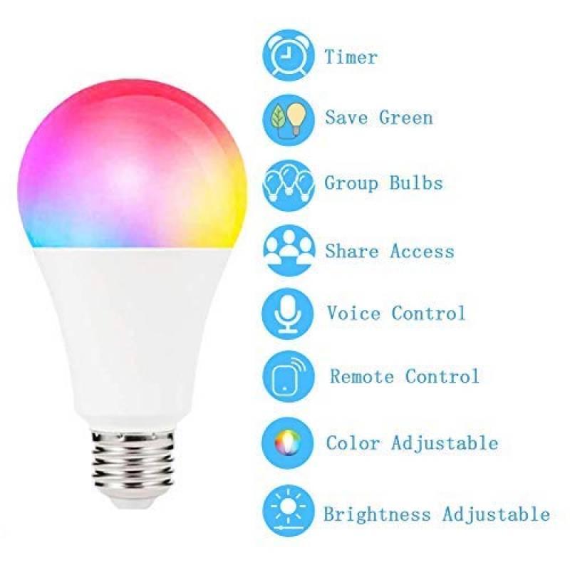 Avec Couleur Choisir Les Ampoule Change Led TlcommandeComment PkXuOZiT