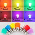 Ampoule LED Couleur Jaune Lampe 2W pour Veilleuse Atmosphère Fête- E27 150LM de la marque AWE-LIGHT image 2 produit