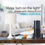 Ampoule LED Couleur,Wifi Ampoule Connectée E27 Compatible avec Amazon Alexa Echo Contrôle par Smartphone (iOS/Android),avec Changement de Couleur,Choix de scène,APP Contrôle à Distance de la marque FEYG image 3 produit