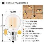 ampoule led dimmable e14 TOP 14 image 1 produit