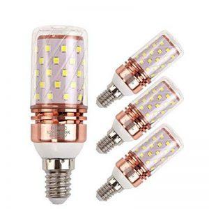 Ampoule led e14 12W blanc froid 6000K, 100W équivalent ampoules à incandescence, AC85-265V 1200LM LED Ampoules Lustre, Lot de 4 (E14-12W-6000K) de la marque HGHC image 0 produit