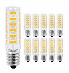 Ampoule LED E14,MENTA, 7W Equivalente à Ampoule Incadesent de 60W, 450Lm,3000K Blanc Chaud, Angle de faisceau de 360 dégrés, Non-dimmable,Lot de 10 de la marque MENTA image 0 produit