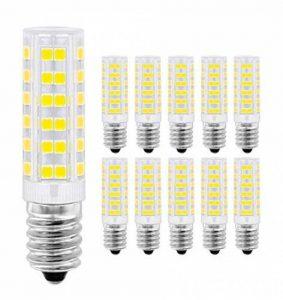 Ampoule LED E14,MENTA, 7W Equivalente à Ampoule Incadesent de 60W, 450Lm,6000K Blanc Froid, Angle de faisceau de 360 dégrés, Non-dimmable,Lot de 10 de la marque MENTA image 0 produit