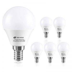 Ampoule LED E14,Seealle 5W Équivalent Ampoule Incandescente de 50W, E14 Ampoule Type Globe, Blanc Froid 5000K , Non-Dimmable, Lot de 6 de la marque Seealle image 0 produit