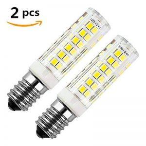 Ampoule led E14, ZSZT 7W 500LM (Equivalent 50W Ampoules halogènes/Incandescente) Blanc Froid 6000K, 360° angle de faisceau, 220-240V, Lot de 2 de la marque ZSZT image 0 produit