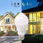 Ampoule LED E27 10W PIR avec Détecteur de Mouvement Éclairage Décoratif à Capteur Infrarouge Blanc Chaud 3000K du Jour pour Couloir, Garage, Escalier de la marque HGHC image 2 produit