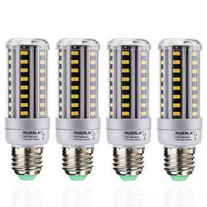 Ampoule LED E27 12W Ampoules Maïs (Equivalence incandescence 100W) 1205 Lumen 3000K Blanc Chaud Lampe Led E27 Angle de Faisceau 360° Lot de 4 by HUIERLAI de la marque HUIERLAI image 0 produit