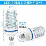 Ampoule LED E27, 30W Equivalence incandescence 250 W, 2700 Lumen LED lampe Blanc Froid(6000k), 360 ° Angle de faisceau, AC 85~265V, Lot de 1 de la marque Bro.Light image 2 produit