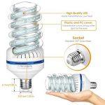 Ampoule LED E27, 30W Equivalence incandescence 250 W, 2700 Lumen LED lampe Blanc Froid(6000k), 360 ° Angle de faisceau, AC 85~265V, Lot de 1 de la marque Bro.Light image 4 produit