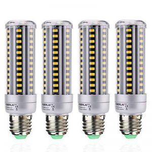 Ampoule LED E27 Blanc Chaud 15W Led Mais (Equivalence incandescence 120W) 3000K 1380 Lumen Lampe E27 Led Angle de diffusion 360° Lot de 4 by HUIERLAI de la marque HUIERLAI image 0 produit