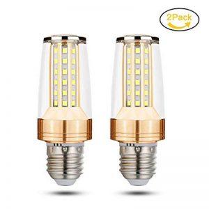 Ampoule LED E27, Jpodream® 10W 58 x 2835 SMD LED Lampes Blanc Froid 6000K,100W Halogène Lumière Equivalente(1000lumen), AC85-265V, 360 Degrés Angle LED Candelabra Ampoules - Pack de 2 de la marque Jpodream image 0 produit