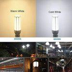 Ampoule LED E27 Lampe Led 25W équivalent 250W avec E40 Adaptateur 2500 Lumen Blanc Froid 6500K Super Brillant Ampoule Blanc Froid Eclairage Led maïs Cob 360° Larges Faisceaux de la marque AWE-LIGHT image 3 produit