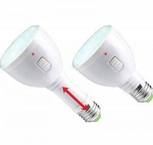 Ampoule LED E27 rechargeable 3 en 1 - ELIX ENERGY - Battlamp 4 W 4H - autonomie 4 heures, peut fonctionner même sans courant électrique de la marque ELIX ENERGY image 0 produit