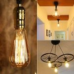 Ampoule LED Edison,Samione Lampe Décorative Ampoules à incandescence Rétro Edison Ampoule Antique Lampe 6 Pack [Classe énergétique A++] de la marque Samione image 4 produit