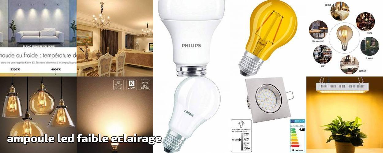 Led Ampoule Pour Faible Eclairage Comment Trouver 2019gt; Les zUSVpMqG