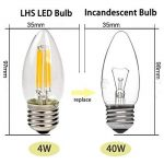 ampoule led flamme e27 TOP 2 image 2 produit