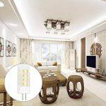Ampoule LED G4 5W DC/AC 12V Equivalent à Lampe Halogène 40W, Cool blanc 6000K LED Lampe 400LM G4 Lumière Non Dimmable, 360° Angle de Faisceau, Pack de 5 de la marque baoxing image 4 produit