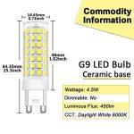 ampoule led g9 50w TOP 9 image 1 produit