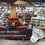 Ampoule LED GU10, 7W 18 x 5730 SMD Lampe LED, Blanc Froid 6000K, 550lm, AC85-265V, 140°Larges Angle d'Éclairage Ampoule Spot LED by Jpodream - Lot de 6 de la marque Jpodream image 4 produit