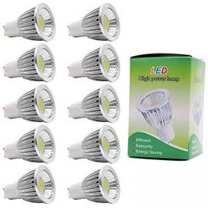 ampoule led gu10 cob TOP 1 image 0 produit