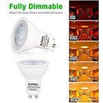 ampoule led gu10 compatible variateur TOP 12 image 3 produit