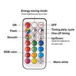 Ampoule LED GU10 Couleur Changement RGB+Blanc Chaud, 3W Spotlight Lights Ampoule 2700K Dimmable par Télécommande Sans Fil, AC 85V-265V 20W D'équivalent Incandescent (Pack of 4) de la marque ChangM image 3 produit