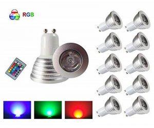 ampoule led gu10 couleur TOP 7 image 0 produit
