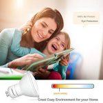 Ampoule LED GU10 Lampaous à économie d'énergie 5W - Ampoule halogène de rechange 50W GU10 - 450 lumen, Céramique, blanc, GU10, 5.00W 240.00V de la marque Lampaous image 2 produit
