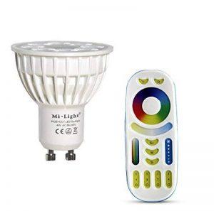 ampoule led gu10 multicolore télécommande TOP 3 image 0 produit