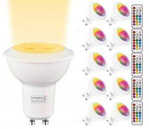 ampoule led gu10 multicolore télécommande TOP 7 image 0 produit