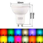 ampoule led gu10 multicolore télécommande TOP 7 image 2 produit