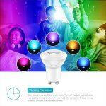 ampoule led gu10 multicolore télécommande TOP 9 image 2 produit
